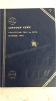 Lincoln Cent Collection 1941-1974- Partially