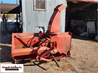 8' Feterl Snow Blower, Hydrualic Spout, 2 stage,O