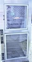 NU-VU oven/proofer, Model OP-2RFM, cond. unknown