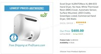 Xlerator Excel Dryer