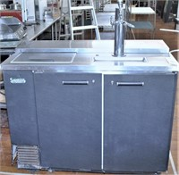 Beverage Air 2 Door Keg Cooler, Model Dd50-c