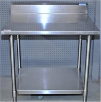 All Stainless Table, 30 X 36