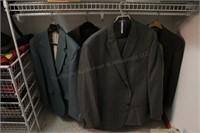 Mens suits & sport coats (5pcs) size 40-50