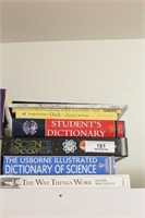 Dictionaries, environment & nature books