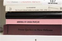 Canadian Books: LaMarine, French Forts, ...