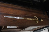 "30"" Decorative Sword made in Spain 24"" blade"
