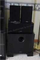 Polk audio 5.1 Stereo Surround system speakers