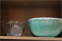 Corelle dishes & pyrex bowl