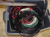 Wire: 220v cable 5', 12v wire (16ga to 2ga)
