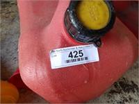 Gas cans funnels & oil pans
