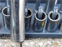 "Craftsman 1/2"" Drive sockets - Metric"