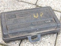 "Craftsman metric & Sae 1/4"" drive sockets"