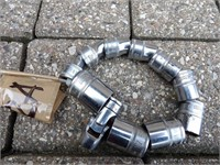 Snap-on 3/8 drive metric sockets 6pt 8-19mm