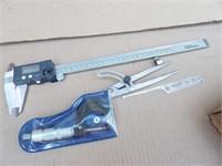 Calipers, micrometer (0-1) & indicator