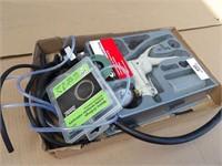 Brake bleeder vacuum pumps