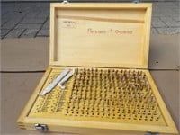Pin gauge set .061 to .250in