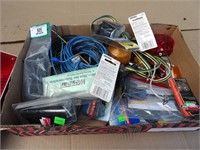 12v wire, trailer  lights & wire strippers