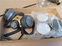 Respirator face mask & filters