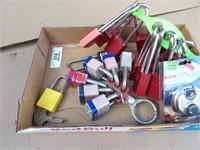 Keys, locks & lockout tags