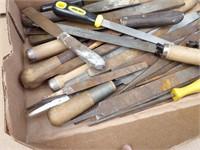 Scrapers, files & rasps