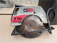 Sears Craftsman circular saw & case