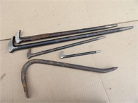 Punches, chisels & pry bars