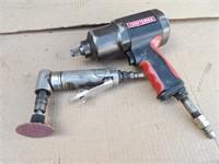 """Craftsman 1/2"""" impact & 90-degree die grinder"""