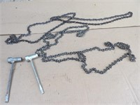 saw chains & chainsaw bar wrench