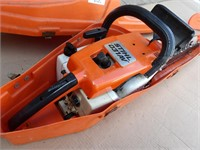 Stihl 031AV chain saw - runs good