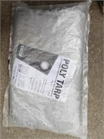 Large Grey Tarp 20x20'