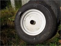 5.70-8 (2), wheelbarrow wheel & others