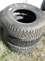 Tires p235/75R16 (3pcs)