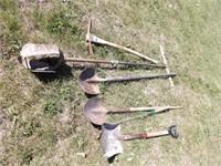 ax, shovels, pick, spade &more
