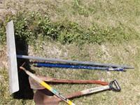 shovels & post hole digger