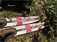 Cypress Gardens Pro Combo water skis & tow line
