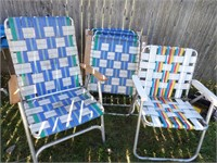 5 Lawn Chairs (4 match)