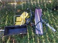 Tonka articulated loader, swing & Bat