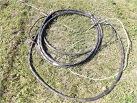 large cable made up of 4 strands 600V 2AWG