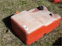Marine gas tank poly 6.6 gallon tank