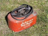 Johnson Mile Master 4gal marine gas tank
