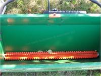 precision green Scotts lawn spreader