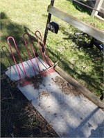 platform & bicycle rack