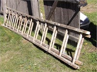 20' wood extention ladder