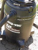 12 gallon shop vac 4.0 peak hp