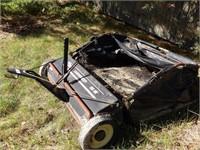 "agrifab 38"" lawn sweeper"