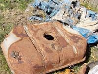 scrap metal, batteries, boat parts & auto rear end