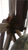 """Cast Bronze Bell 1899 37"""" Diameter 27 1/4"""" Height"""