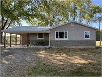 House, Pole Barn, Open Garage, & Approx. 33.6Acres