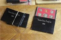 3pcs. Proof set 1980