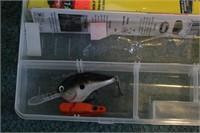 Fishing lures (Berkley Flicker Schad, Rapalla,...